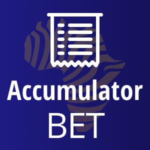 Accumulator bet total