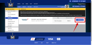 Betking withdrawal from betting account